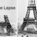 Eiffel Kulesi ve time lapse